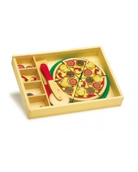 Pizza à découper Déjeuner et pique-nique  –Serpent à Lunettes
