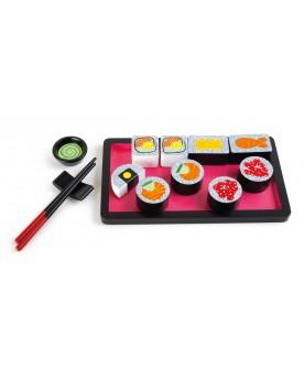 Set de sushi en bois Déjeuner et pique-nique  –Serpent à Lunettes