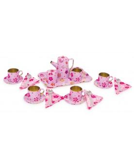 Valise de Pique-nique «Petites Fleurs» Déjeuner et pique-nique  –Serpent à Lunettes