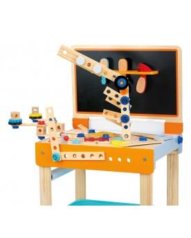 Etabli pour enfants avec table à dessin Atelier de bricolage  –Serpent à Lunettes