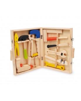 Boîte à outils «Lino» Atelier de bricolage  –Serpent à Lunettes