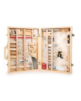 Boîte à outils «Deluxe» Atelier de bricolage  –Serpent à Lunettes