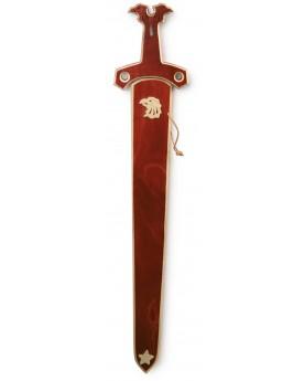 """Epée en bois \\""""Etoile de faucon\\"""" Costumes et déguisements  –Serpent à Lunettes"""