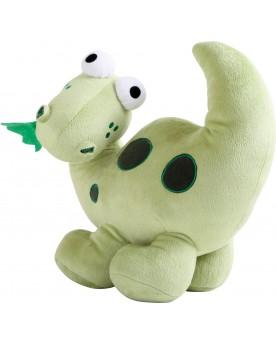 Peluche Dino herbivore LEGLER / SMALLFOOT  –Serpent à Lunettes