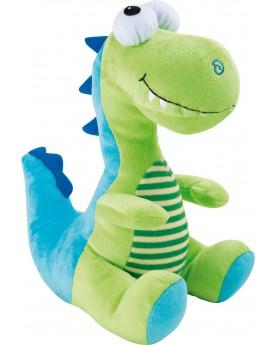 Peluche Dino Grands yeux LEGLER / SMALLFOOT  –Serpent à Lunettes