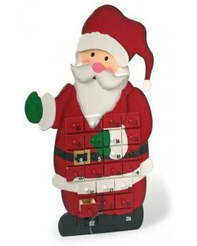 Calendrier de l'Avent «Père Noël» Noël  –Serpent à Lunettes