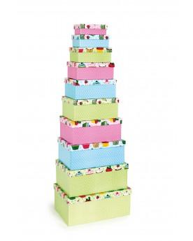 """Boîte pour cadeaux \\""""Cupcakes\\"""" Cadeaux  –Serpent à Lunettes"""