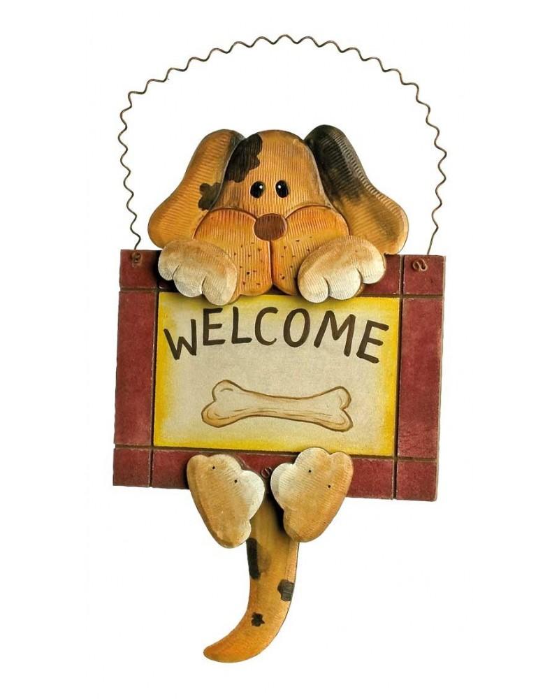 Plaque de décoration «Welcome» Maison  –Serpent à Lunettes