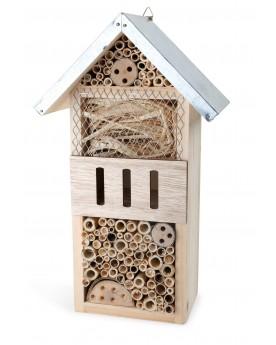 Hôtel à insectes Séjour en ville Jardin  –Serpent à Lunettes