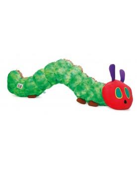 """Peluche Chenille géante \\""""La chenille qui fait des trous\\"""" LEGLER / SMALLFOOT  –Serpent à Lunettes"""