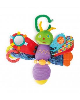 """Papillon de motricité \\""""La chenille qui fait des trous\\"""" Jouets de motricité  –Serpent à Lunettes"""