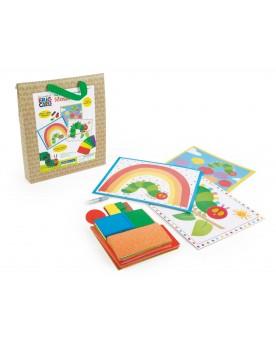 """Kit de loisirs créatifs Mosaïque \\""""La chenille qui fait des trous\\"""" Loisirs créatifs, construction, science  –Serpent à Lu..."""