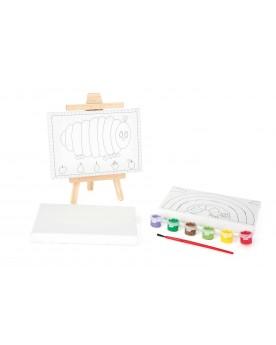 """Kit de dessin \\""""La chenille qui fait des trous\\"""" Tampons, peinture, création  –Serpent à Lunettes"""