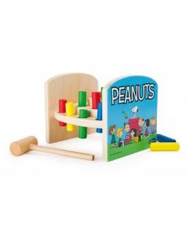 Peanuts Banc à marteler Jouets à marteler  –Serpent à Lunettes