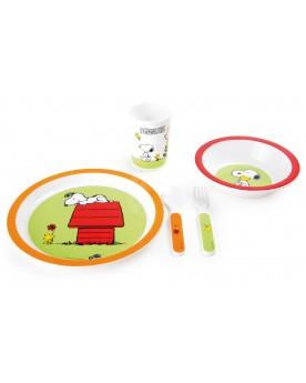 """Vaisselle pour enfant \\""""Peanuts\\"""" Vaisselle  –Serpent à Lunettes"""