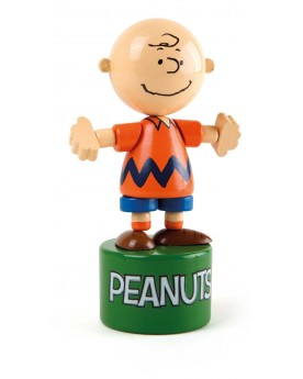"""Peanuts poussoir \\""""Charlie Brown\\"""" Jouets de motricité  –Serpent à Lunettes"""