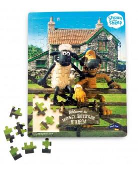 Shaun le mouton Puzzle Puzzles  –Serpent à Lunettes