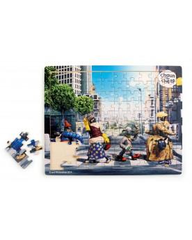 Shaun le mouton Puzzle Abbey Road Puzzles  –Serpent à Lunettes