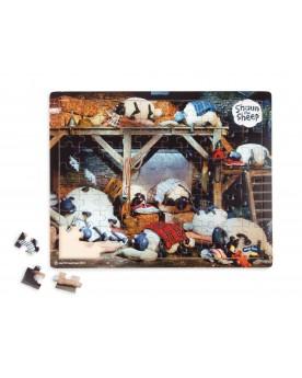 Shaun le mouton Puzzle Heure du coucher Puzzles  –Serpent à Lunettes