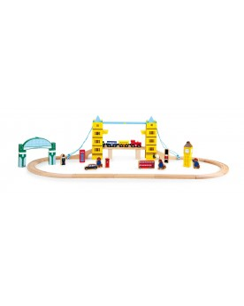 L´ours Paddington Set de jeu Chemin de fer Circuits et véhicules  –Serpent à Lunettes