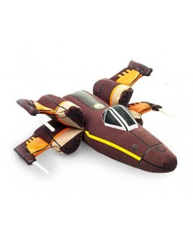 Star Wars Avion en peluche X-Wing Fighter LEGLER / SMALLFOOT  –Serpent à Lunettes