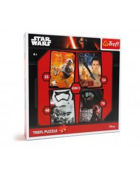 Star Wars Puzzle 4 en 1 Puzzles  –Serpent à Lunettes