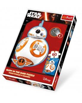 """Star Wars Puzzle BB-8 \\""""Phosphorescent\\"""", 60 pièces   –Serpent à Lunettes"""