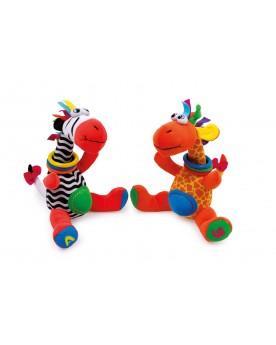 Jimmy & Cleo Peluches  –Serpent à Lunettes