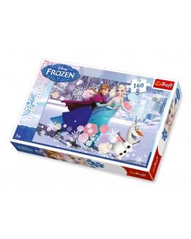 """Puzzle \\""""La Reine des neiges\\"""" 160 pièces Puzzles  –Serpent à Lunettes"""