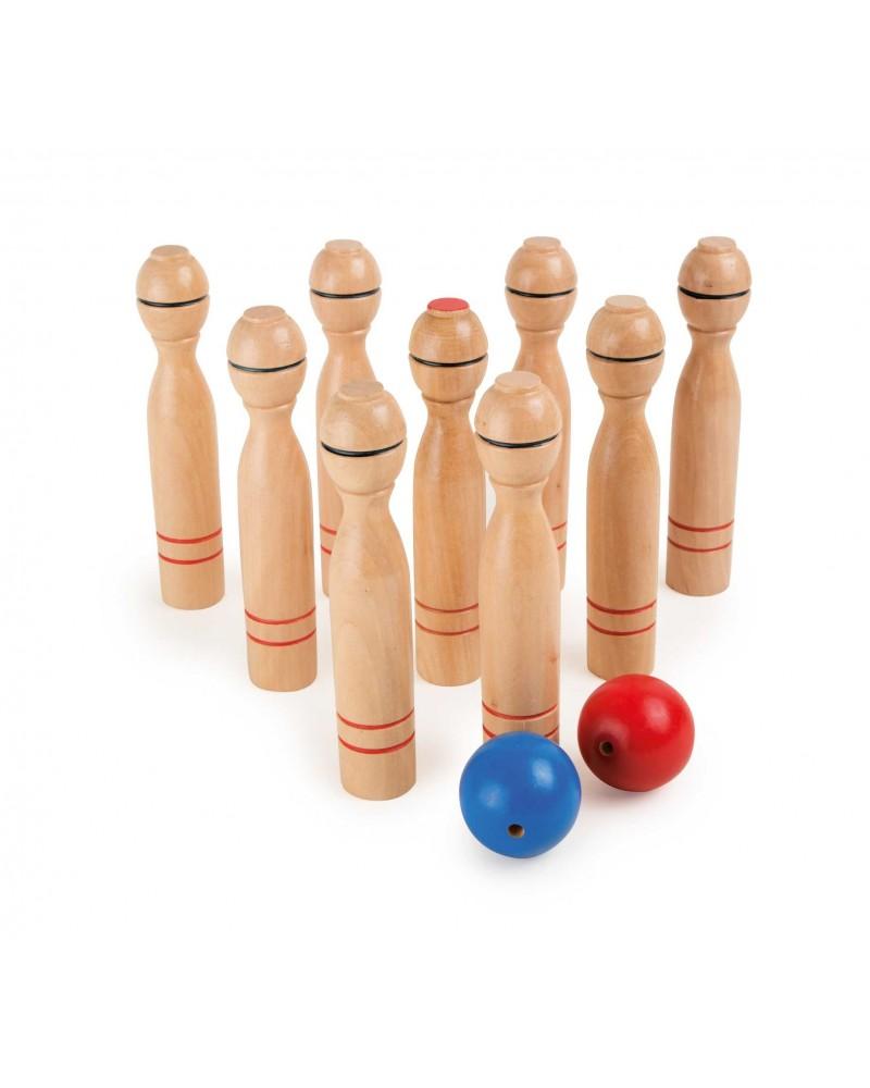 Jeu de quilles, grand format Jeux de boule et de quilles  –Serpent à Lunettes