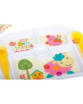 Vaisselle pour enfant «Meilleurs amis» Vaisselle  –Serpent à Lunettes