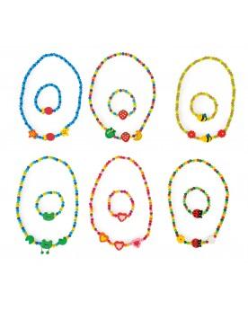 Parures de bijoux colorées Coiffure, maquillage et bijoux  –Serpent à Lunettes