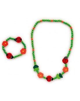 Parure bijoux enfants Coccinelles Coiffure, maquillage et bijoux  –Serpent à Lunettes