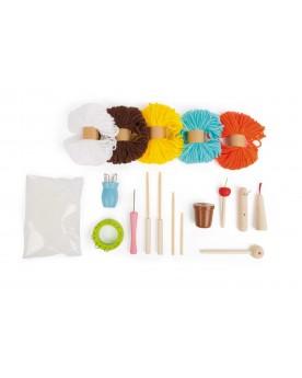 """Kit de loisirs créatifs \\""""Tricot\\"""" Loisirs créatifs, construction, science  –Serpent à Lunettes"""