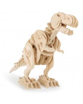 Kit en bois Dino-robot T-Rex avec télécommande Loisirs créatifs, construction, science  –Serpent à Lunettes