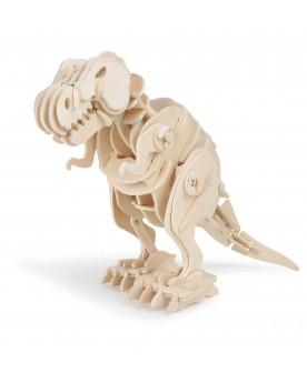 Kit en bois Dino-robot T-Rex Loisirs créatifs, construction, science  –Serpent à Lunettes
