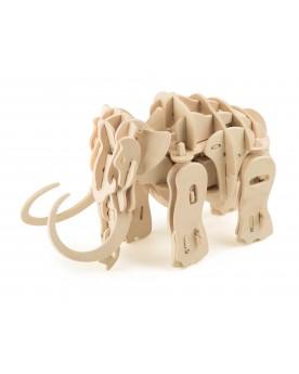 Kit en bois Mammouth-robot Loisirs créatifs, construction, science  –Serpent à Lunettes