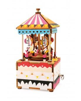 Kit de construction boîte à musique «Petit cheval» Loisirs créatifs, construction, science  –Serpent à Lunettes