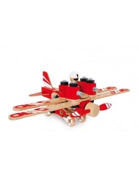 """Kit de construction \\""""Aviation\\"""" Jouets à assembler  –Serpent à Lunettes"""