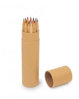 Crayons de couleur «Nature» Papeterie et fournitures scolaires  –Serpent à Lunettes