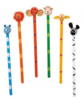Crayons à papier «Safari» Papeterie et fournitures scolaires  –Serpent à Lunettes