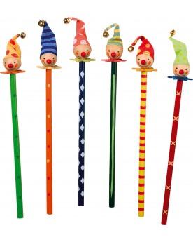 Crayons de couleur «Clowns» Papeterie et fournitures scolaires  –Serpent à Lunettes