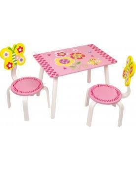 Ensemble table «Léonore» Mobilier  –Serpent à Lunettes