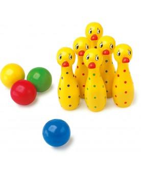 Quilles «Canard» Jeux de boule et de quilles  –Serpent à Lunettes