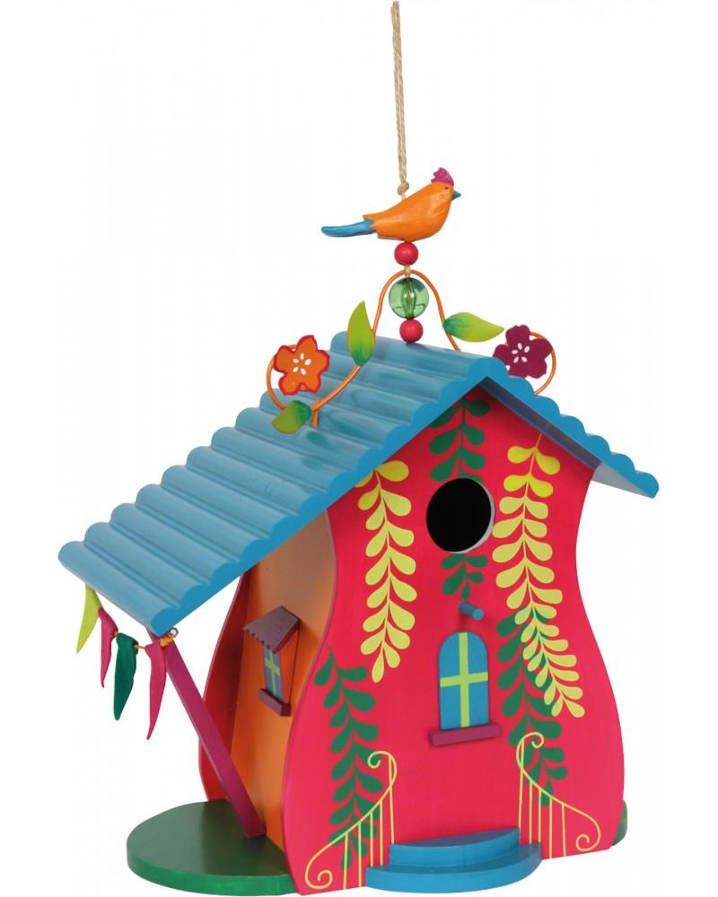 """Maison à oiseaux \\"""" Maui \\"""" Jardin  –Serpent à Lunettes"""