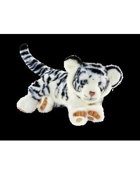 Tigre blanc couché 35 cm ANIMA  –Serpent à Lunettes