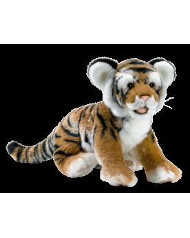 Tigre brun couché 35 cm ANIMA  –Serpent à Lunettes