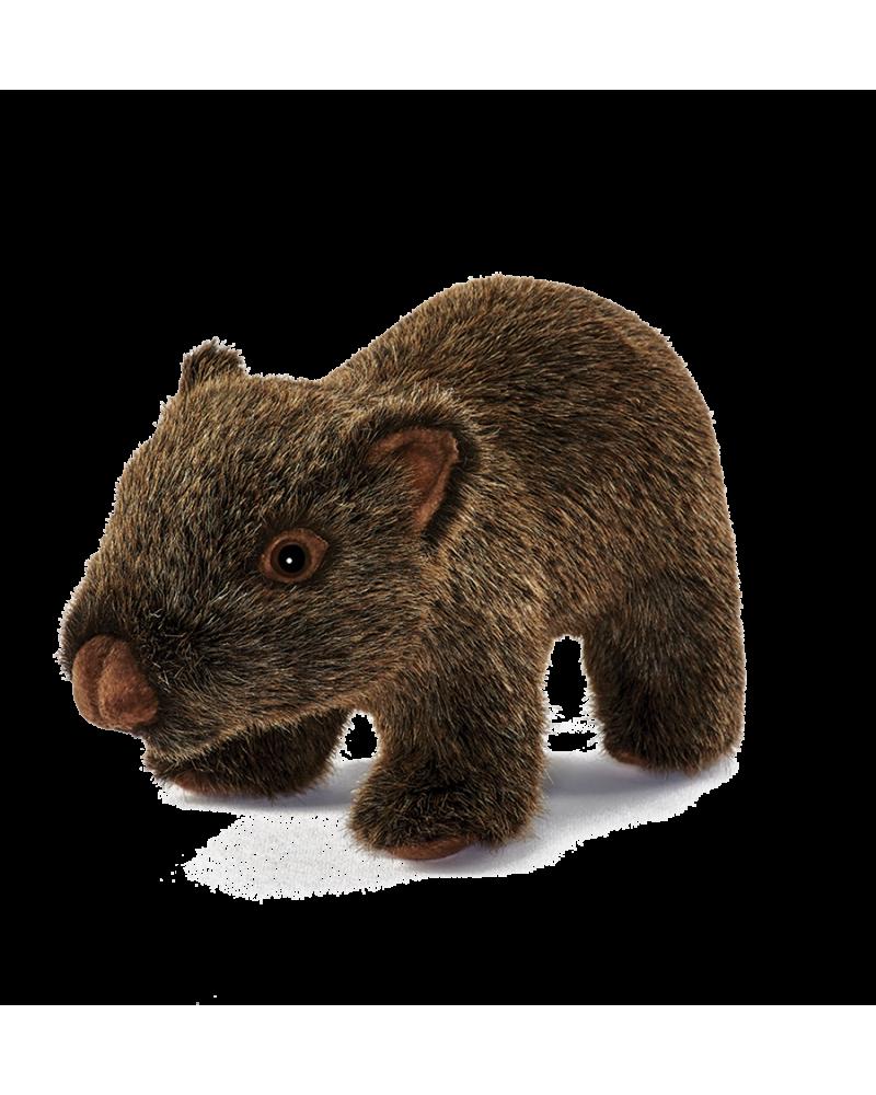 Wombat bébé 24 cm Hansa  –Serpent à Lunettes