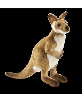 Wallaby 36 cm Hansa  –Serpent à Lunettes