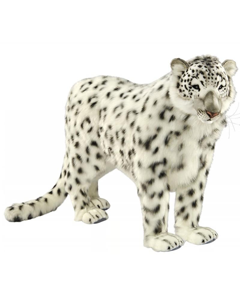 Léopard des neiges 122 cm HANSA  –Serpent à Lunettes